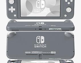 3D Nintendo Switch Lite - Gray