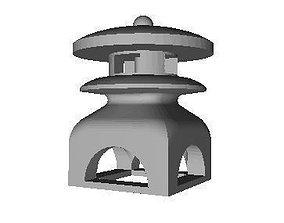Sculpture Lamp 3D print model
