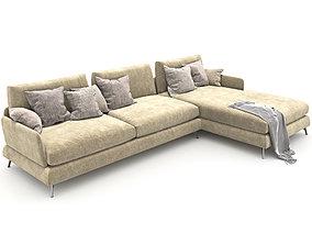193-Sofa Ditre italia jasper 1 3D model