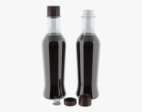 3D model Soy sauce in a bottle 07