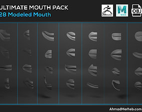 Ultimate Mouth Pack Models mouths