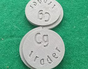 Cgtrader Makers Coin giving back project 3D print model 2