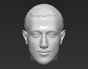 Mark Zuckerberg standard version only mesh zbrush 3D