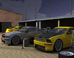 3D asset Street Drivers