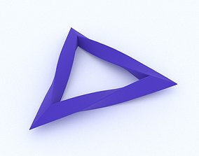 Twisted Triangle 3D printable model