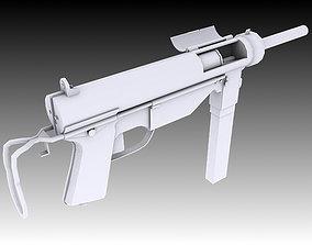 3D asset M3 Grease Gun