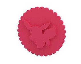 3D printable model Cookie stamp - Stamp kitchen-dining