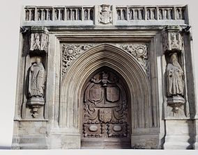 3D model Photogrammetry Cathedral Main Door