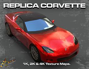 Replica Corvette 3D model