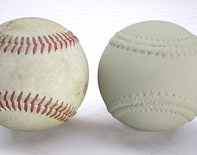 Old baseball - 3dscan - High resolution