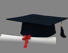 Graduation Cap 3D cover