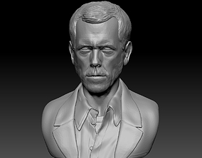 House MD bust 3D printable model