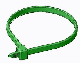 111-03210 Hellermann Cable Tie 3D print model
