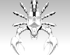 3D print model Scoprion zodiac pendant