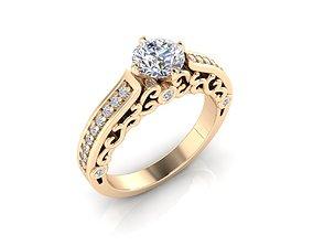 Engagement ring 2 newring 3D print model