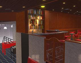 3D model Bar I indoor skatepark I game lounge