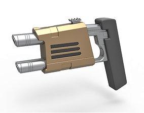 Nausicaan Pistol from Star Trek Enterprise TV 3D model 1