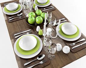 Table serving 3 3D model