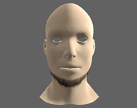 Beard Styles Whole Lower 3D asset