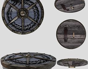 3D model Viking Round Shield