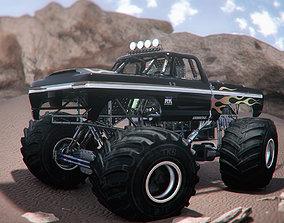 extreme Monster Truck 3D model