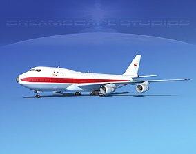 Boeing 747-100 TWA 1 3D