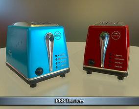 PBR Toaster 3D model