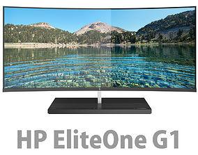 3D HP Elite One 1000 G1 AiO 34 inches