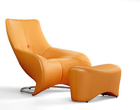 3D model Leolux Darius armchair 2013
