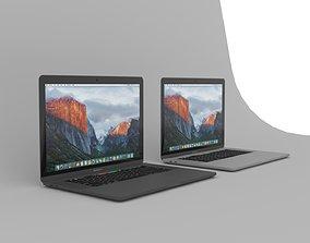 desktop MacBook Pro 3D model
