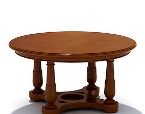 Wooded Coffee Table 3D