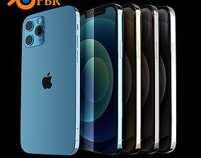 3D iPhone 12 Pro Blender Project