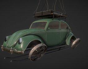 hover car 3D model realtime