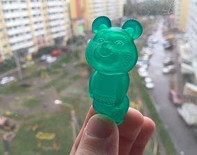 3D print model Russian bear souvenir