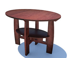 3D model Antique Limpert Table