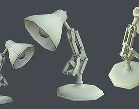Table lamp 3D asset