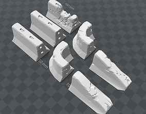 Concrete Barriers 3D printable model