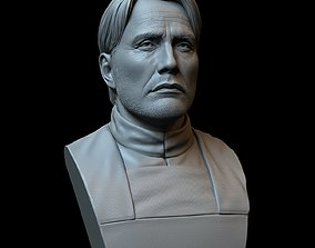 3D print model Mads Mikkelsen as Galen Erso