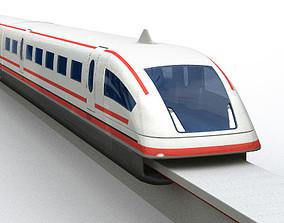 MagLev Train 3D model