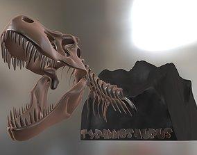 3D model Tyrannosaurus Cranium