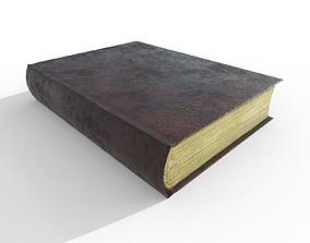 old book 3D asset realtime