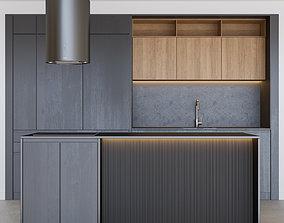 3D Modern kitchen 08