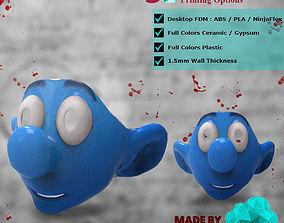 Smurf 3D Print Mask - Kid Costume