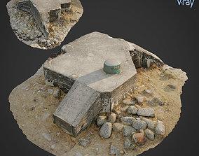 3d scanned Bunker A