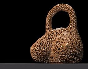 Kettlebell boobs 3D print model