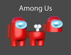 Among Us 3D Print OBJ