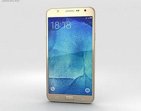 Samsung Galaxy J7 Gold 3D model