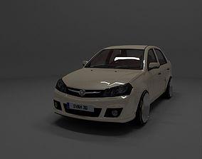 Proton Saga FLX 3D asset