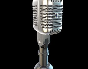 Shure Microphone Element 3D and C4D