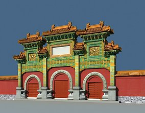 3D China ancient torii 1